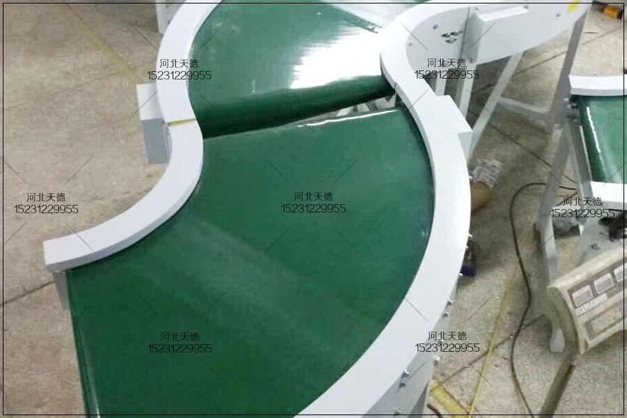 内蒙古酱菜包装线皮带输送机定制规格