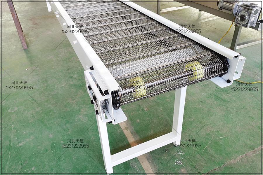 东营蜜饯304不锈钢食品输送网带...