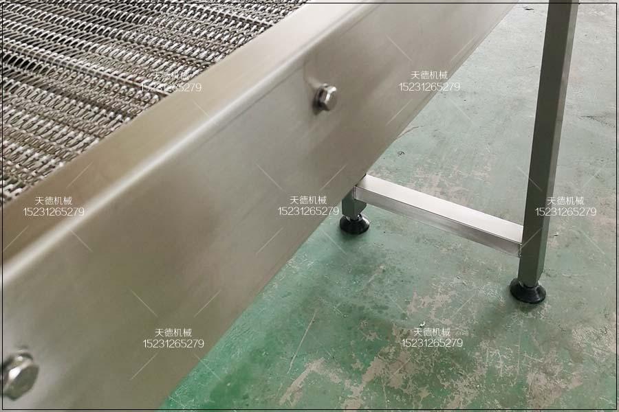 德阳芒果清洗流水线网带式输送机