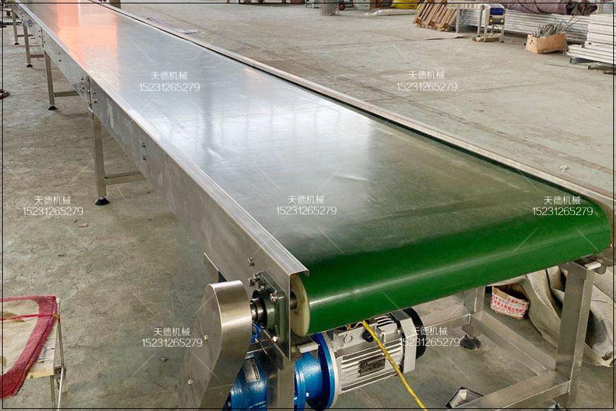 福建煤块输送线大倾角皮带输送机