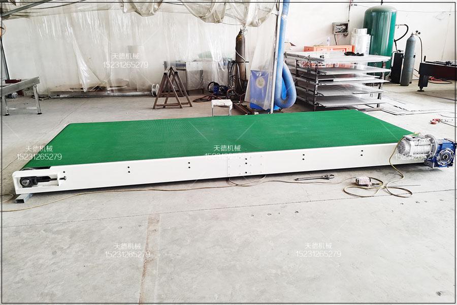 山东猪肉脯生产线小型输送机流水线