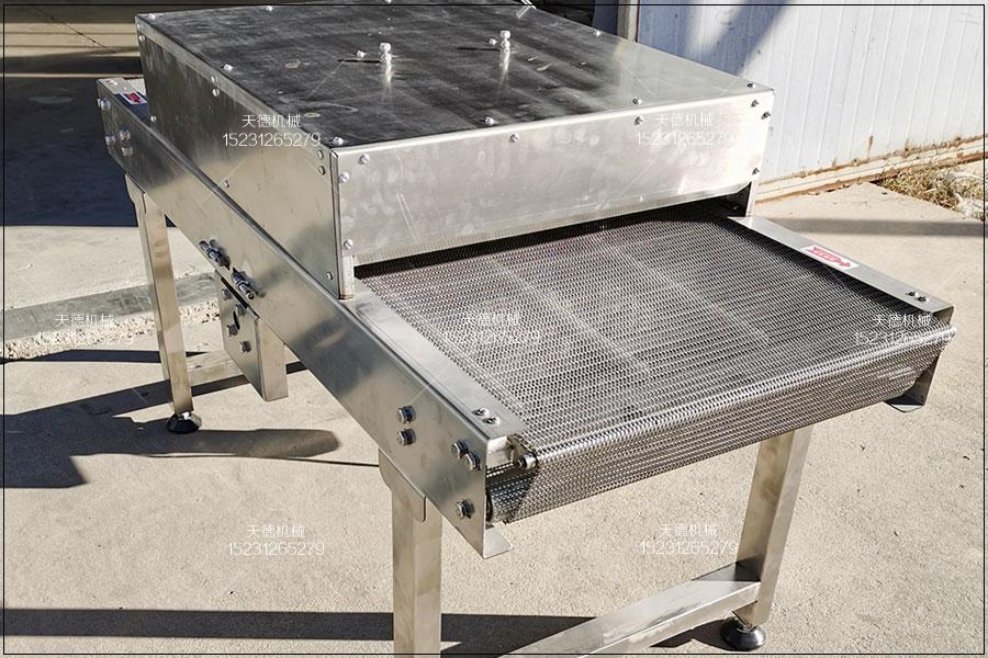 汕尾腰果生产线小型网带输送机操作...
