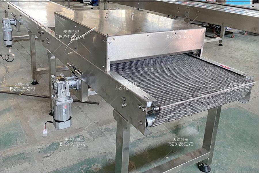 鸡西牛肉粒输送线网链输送机组装方法