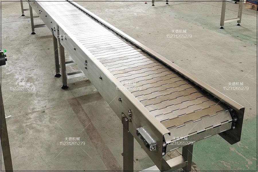 嘉兴螺栓酸洗风干线链板输送机特点