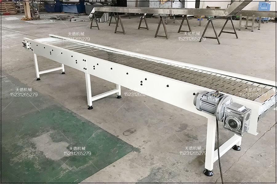 直行板链输送机、爬坡板链线、...