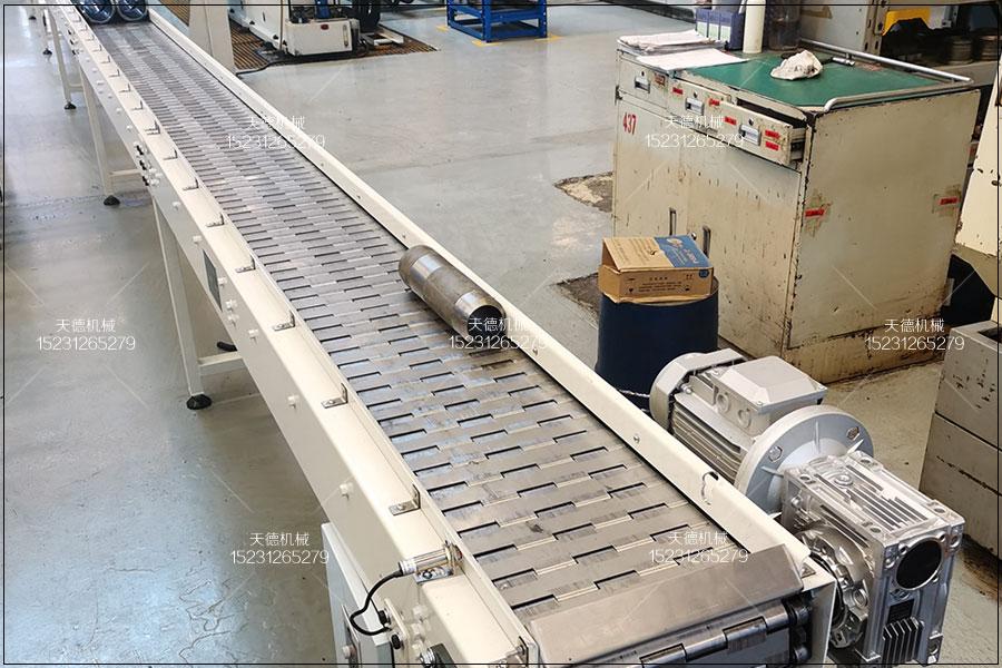 橡胶设备链条链板输送机输送带