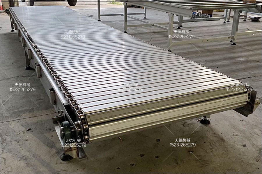 不锈钢扣板输送机用于家电组装线